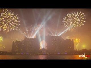 Новый рекорд мира!!! Фейерверк в Дубае. (2014 год)