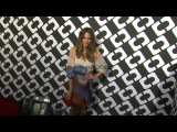 Louise Roe at Diane Von Furstenbergs Journey Of A Dress E...
