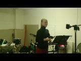 Даша Сергеева-Нежность(репетиция)