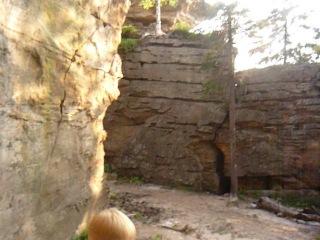 Каменный город первое посещение в 2012 г. с Левой, полный восторг