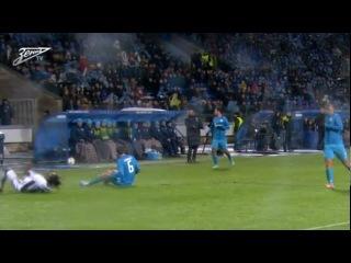 Матч Лиги чемпионов УЕФА «Зенит» — «Андерлехт»: лучшие моменты ®