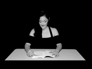Get's orgasms while reading a book