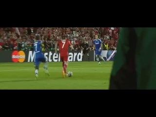 30.08.2013. Суперкубок УЕФА. Бавария - Челси. Гол Рибери (1:1)
