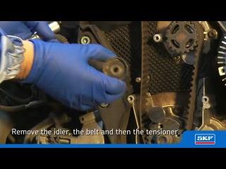 Замена комплекта ГРМ (ремень, ролики и помпа)