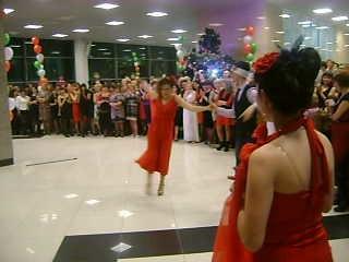 на корпоративе новый год 2014.Наш танец танго