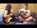 Илья со своей сестрой Настей (Jessie J – Price tag (feat. B.o.B.))