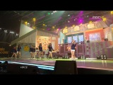 [PERF] SNSD - Etude, Tell Me Your Wish (Remix), & MC Cuts ( MBC Music Core / 090815 )
