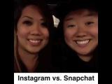 Instagram vs Snapchat(Vine)