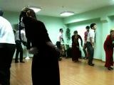 Туркменские студенты танцует куштдепди БрГУ имена А.С Пушкина