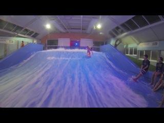 3 этап Открытого чемпионата Москвы по Флоуборду 2013