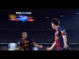 07.10.2012. Ла Лига - 2012/2013. 7-й тур. Барселона - Реал 2-2 (обзор)