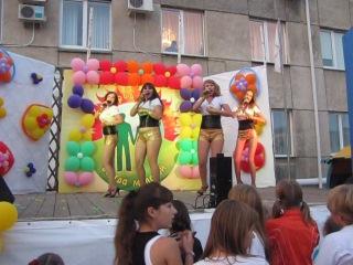 Новый день(Шадринск)-Дыши(cover) 03.08.2013г.