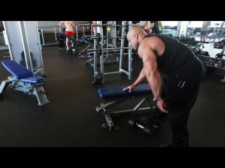 Мастер - класс Victor Martinez. Тренировка мышц спины