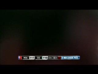 LeBron James Hits the Game-Winning Three to Beat the Warriors!