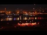 Видео Яркие огни желаний над ночным городом [timur.sv]