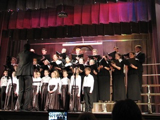 Рождественский концерт '2014 :: Колядка