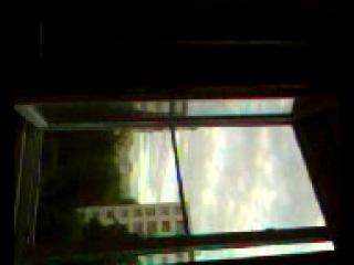 вид на восток из окна кухни