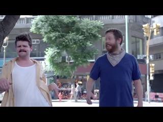 Реклама Fransuskaya voda Evian 2013