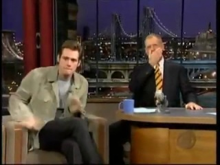Jim Carrey The Late Show with David Letterman Happy New Year