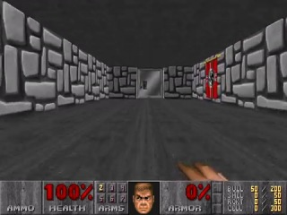 PC Doom II- Second secret exit-secret level