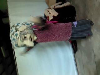 Страстный танец Бабы Яги:D