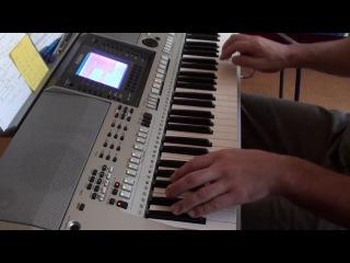 Юрий Шатунов - От Белых Роз Yamaha PSR-S700 cover Серёга Змей