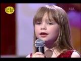 Маленькая девочка поет песню Whitney Houston — I Will Always Love You