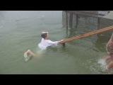 Емоційне купання  на Водохреще! =))