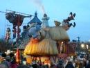 Рождественский парад в Диснейленде Париж, 17.12.13. Алиса в Стране Чудес
