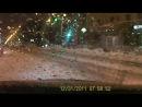 Вот так подбили моего аллиончика 22.11.2012. на пересечении Красного и Гоголя.