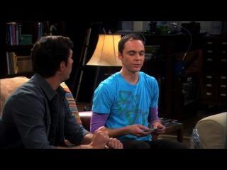 Теория Большого Взрыва-Шелдон и Леонард троллят парня Пенни
