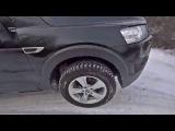 Испытание Chevrolet Captiva, Grand Cherokee и Ford Ranger на полигоне Нива Ланд (Зима)