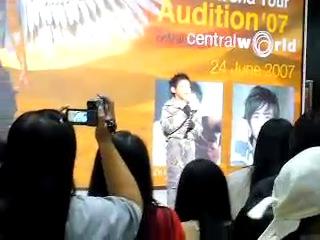 070624  | bambam singing thai national anthem   | jyp world tour audition