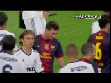 Два лучших футболиста мира Криштиану Роналду и Лионель Месси не пожали друг другу руку .
