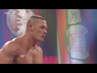 John cena vs. randy orton vs. edge vs. chris jericho vs. sheamus vs. wade barrett night of champions 2010