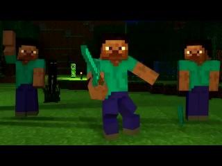 Minekraft, история Стива, серия 8