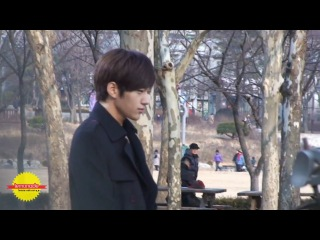 120117 [FANCAM] MyungSoo © Birth of a Family Recording (2)