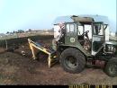 самодельный трактор друга