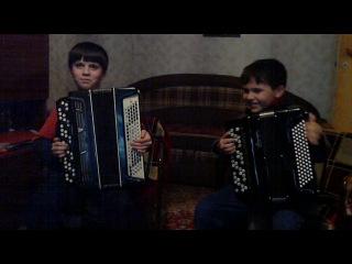 Талантливые дети-баянисты Братья Фроловы