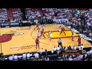 NBA Playoffs 2013 / East / Semifinal / Game 5 / Chicago Bulls @ Miami Heat / Viasat Sport