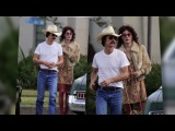 Jared Leto Shows Off His Weight Loss On Set With Matthew McConaughey