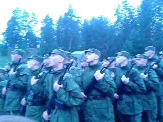 Гимн в/ч 11311 4 рота, 3-й взвод.