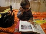 Діана вивчає англійську)))