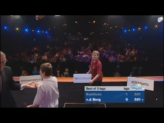 Dutch Open Darts 2013 Курицин Михаил VS VD Berg (Финал)