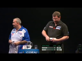 Phil Taylor vs James Wade (PDC Coral Masters 2013 / Semi Final)