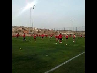 Тренировка Баварии в Марокко
