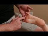 Массаж стопы и пальцев ног