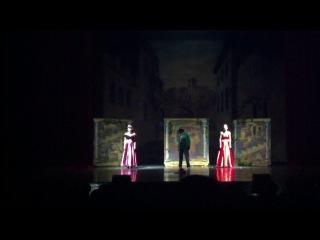 Ира Медведева, Нонна Гришаева и Любовь Тихомирова в спектакле