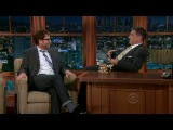 Rainn Wilson on Craig Ferguson Show, 24.04.2013