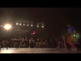 TOYIN vs HIRO - Top 3 Judge Battle - Summer Dance Forever HOUSE - Osaka 2013